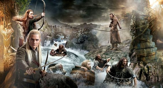 Hobbit lotr lord rings fantasy warrior collage poster wallpaper HD 82212