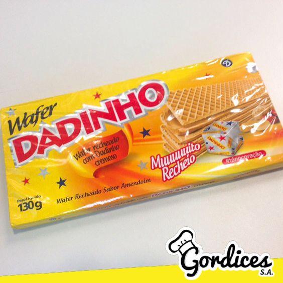 Wafer de Dadinho? 😱💛 - www.gordicessa.com