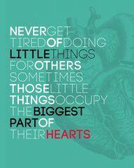 ♥ one of my biggest life beliefs.....