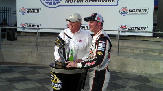 ARTICLE (May 19, 2012): Earnhardt wins Showdown, earns spot in All-Star Race. More: http://www.hendrickmotorsports.com/news/article/2012/05/19/Earnhardt-wins-Showdown-earns-spot-in-All-Star-Race#