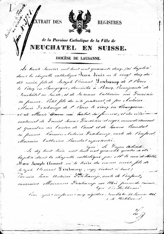 Pin by Seve DesChamp on genealogy Deschamp(s) Pinterest - agreement letter between two parties for payment