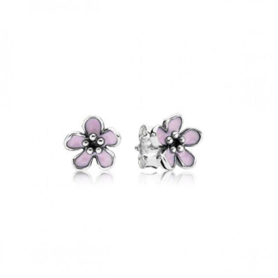 Cherry Blossom Stud Earring