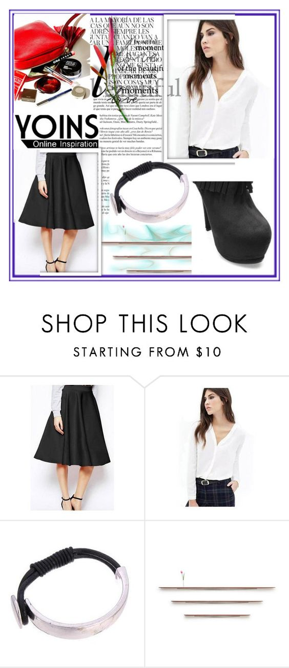 """""""YOINS 23"""" by djulovic-mirela ❤ liked on Polyvore featuring Whiteley, Piet Houtenbos, MustHave, fall2015 and yoins"""