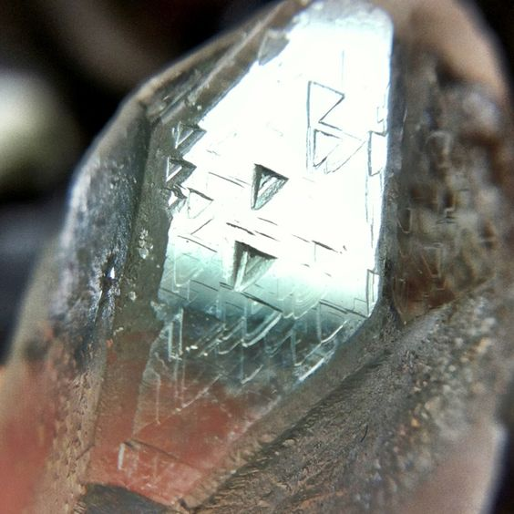 Trigonic Quartz (trigonics are rare, the triangle faces down):
