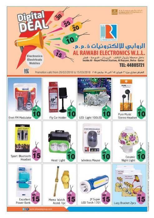 Al Rawabi Electronic Offers From 26 02 18 In Al Rawabi Group On Qatar Arabsclassifieds Best Free Classifieds Sites In Qa Electronics Offers Electronics Offer