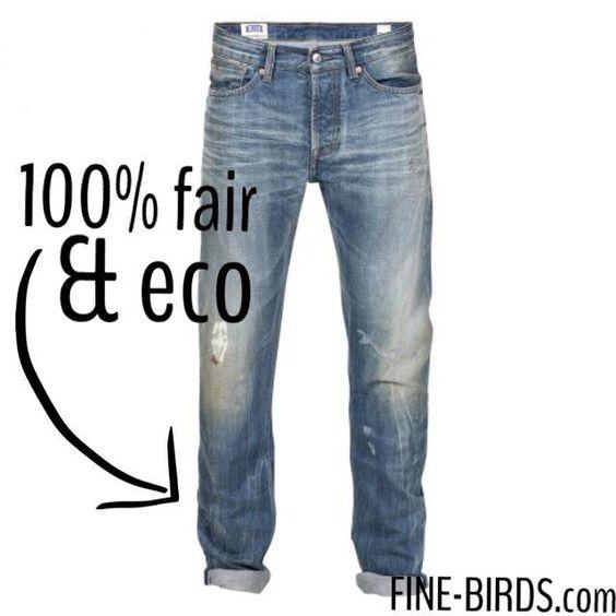 Eco & Fairtrade Denim for Men #Koi #Kingsofindigo #Eco #Ecofashion #Green #Sustainable #Contemporary #Finebirds #online