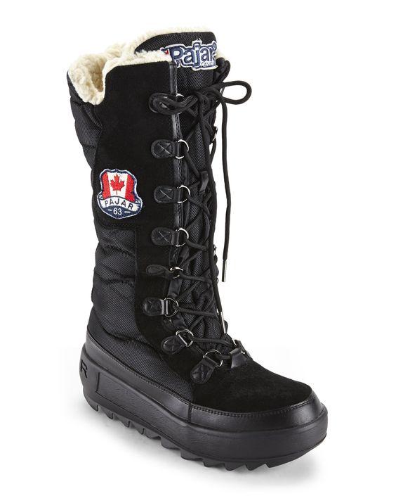 Pajar Canada Black Greenland Snow Boots