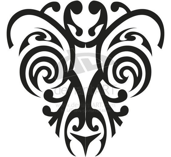 Maori Tattoo Design 1 by ChrisM116 on DeviantArt