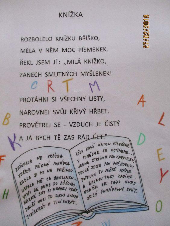 Kniha je můj kamarád – zabickyskolka – album na Rajčeti