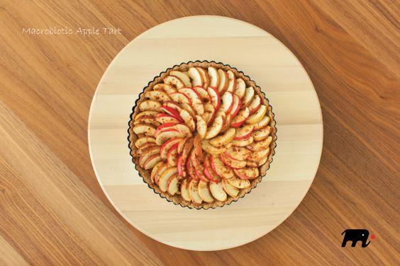 Macrobiotic Apple Tart