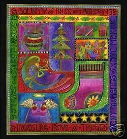 Laurel Burch Cotton Fabric Blessings Beautiful Panel