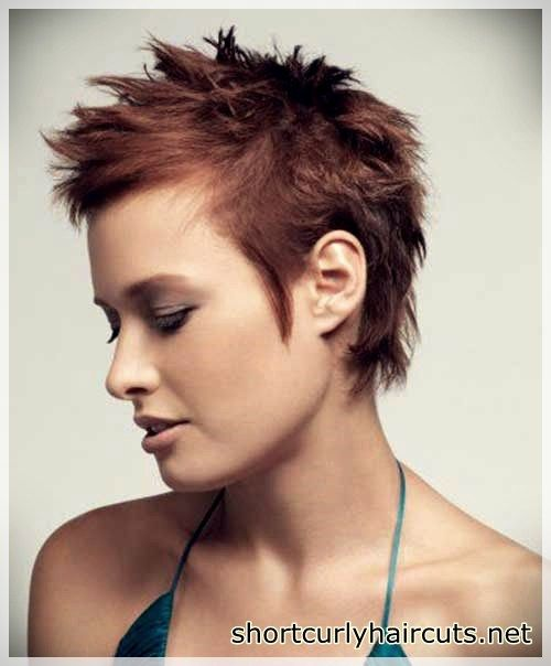 Best Pixie Haircuts For Round Faces Short And Curly Haircuts Short Spiky Haircuts Short Hair Styles Short Spiky Hairstyles