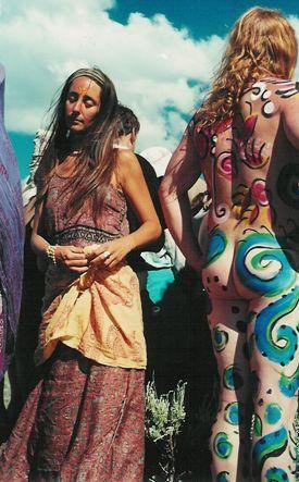 Woodstock 1969 audience: