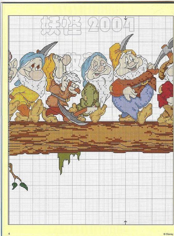 The Seven Dwarfs ~ Saved from facilisimo.com
