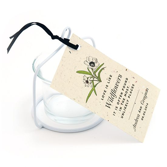 Love Grows Seed Favor Tag