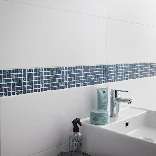 Awesome Carrelage Salle De Bain Blanc Mat Images - Yourmentor.info ...
