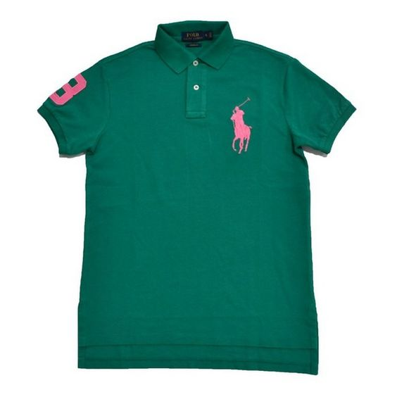 cool Mens Polo Ralph Lauren Custom Fit Big Pony Mesh Shirt