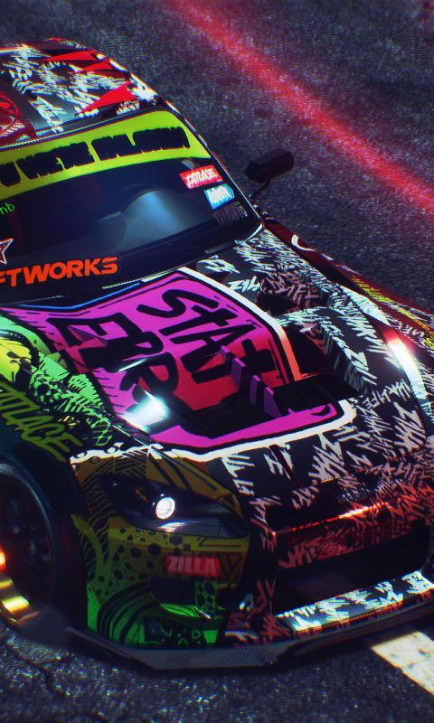 Need For Speed Payback Sports Car Artwork 480x800 Wallpaper