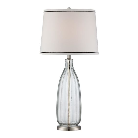 """Lite Source Eileen 30.5"""" H Table Lamp with Empire Shade"""
