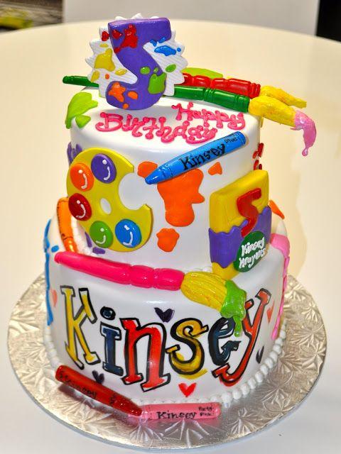 Art Cake I Kinda Love This Cake Cakes