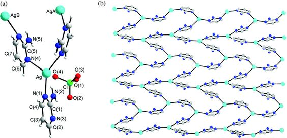 Adjusting the frameworks of polymeric silver( i ) complexes with 2 ...