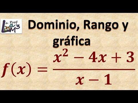 Pin De Edgar Sánchez Londoño En Matematica Función Racional Graficos Rangos