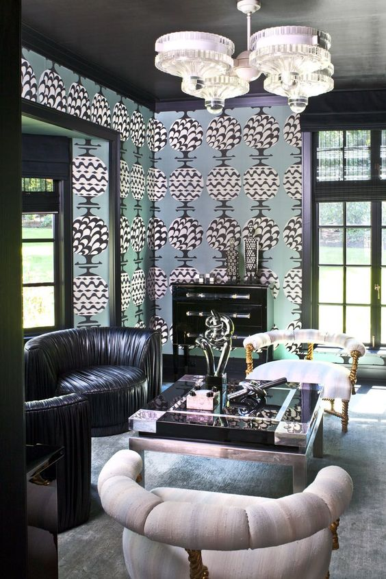 Kelly wearstler wallpapers and lifestyle on pinterest for Kelly w interior designer