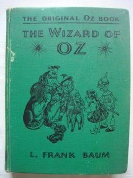 Original Oz Book Wizard of Oz Movie Edition 1939 $59: