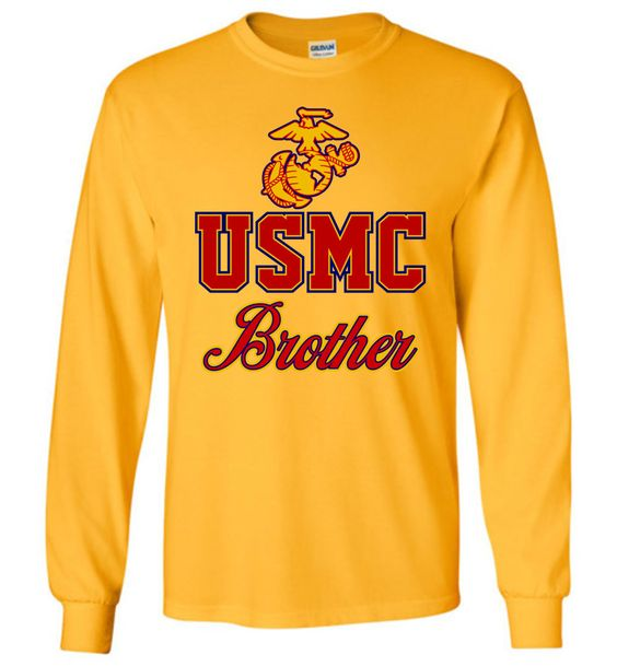 USMC Brother Long-Sleeve T-Shirt