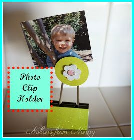 Notions from Nonny: Photo Clip Holders
