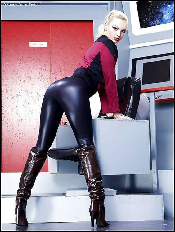 leggings Hot girls leather