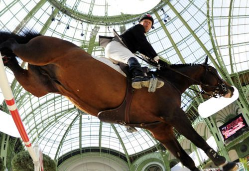 Great shot of Hickstead in air!
