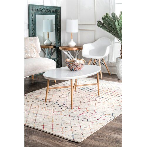 Ashanti Geometric Ivory Area Rug Rugs Usa Home Decor Modern Carpet