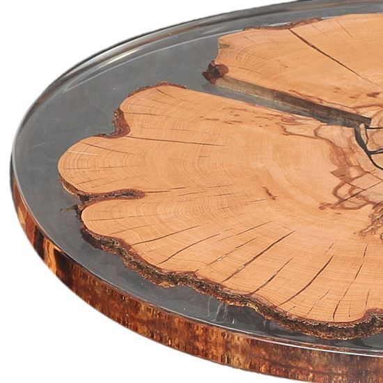Round Beech Resin Table Top Resin Table Top Resin Table Tree