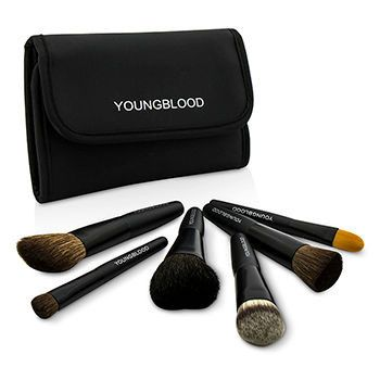 Youngblood MakeUp Set Professional Mini 6pc Brush Set