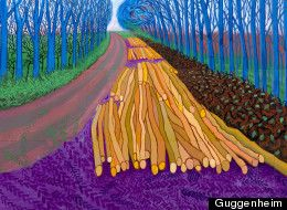 David Hockney - a bigger picture