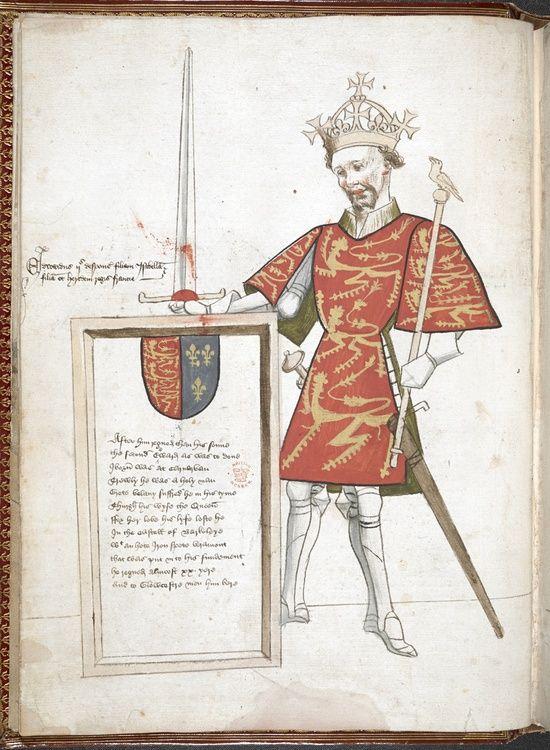 Drawing Of Edward Ii Of England Cordel