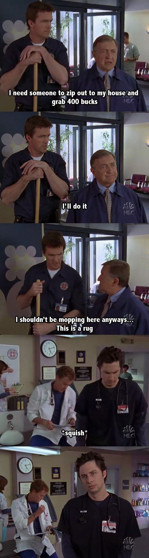 the janitor s best lines on scrubs i love this morning and the janitor s 39 best lines on scrubs i don t watch this