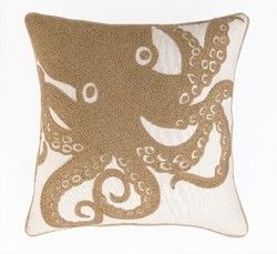 Signature Style, LLC - Embroidered Octopus Pillow , $59.00 (http://www.signaturestyleshop.com/embroidered-octopus-pillow/)