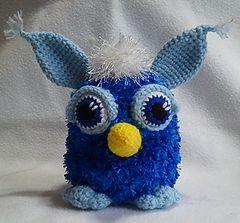Furby-softie ~ Free pattern