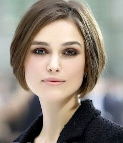 Black on her is passable, but in blue and silver! Who is that girl?! Keira Knightley