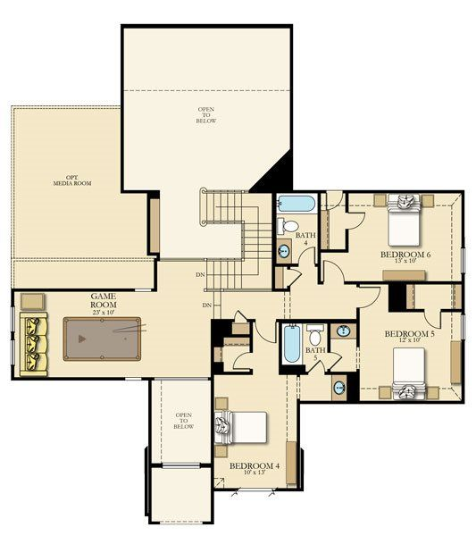 Chatham New Home Plan In Bridgeland Wentworth Collection By Lennar In 2020 New House Plans House Plans New Homes