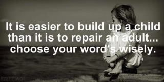 choose your words wisely!