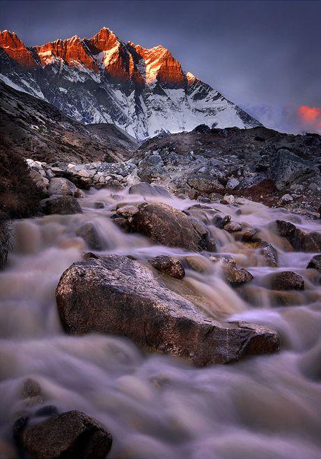 Lhotse Falls by michaelanderson