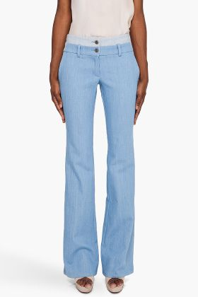 Wide Leg Combo Jeans