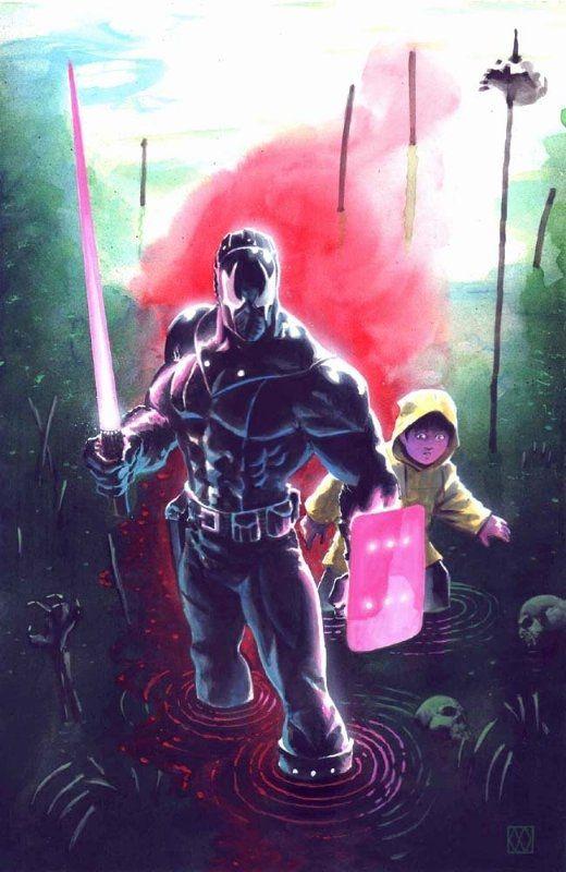Wagner - Grendel: War Child TPB Cover (2002) Comic Art