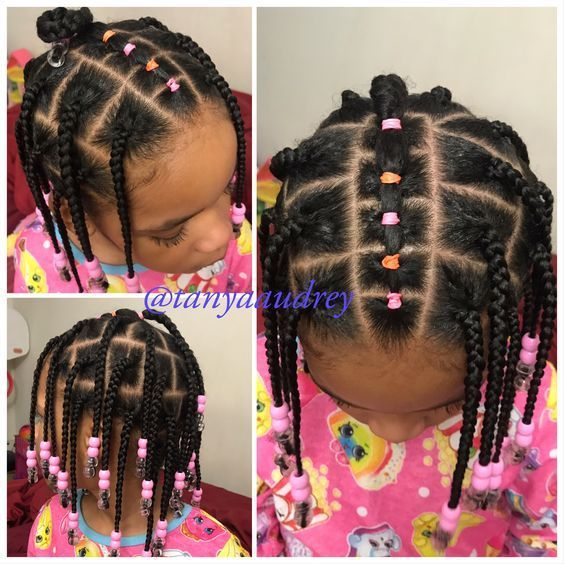 30 Cute And Easy Natural Hairstyle Ideas For Toddlers In 2020 Natural Hair Styles Easy Natural Hair Styles Baby Hairstyles