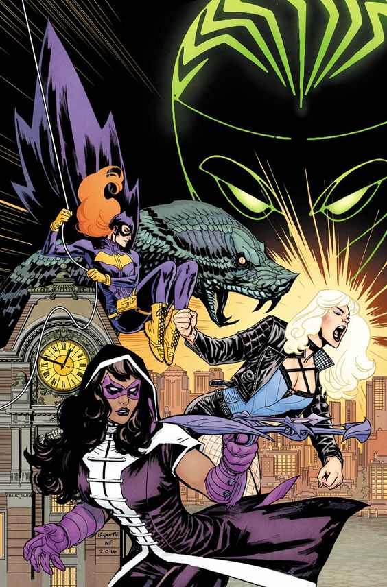 Batgirl and the birds of prey