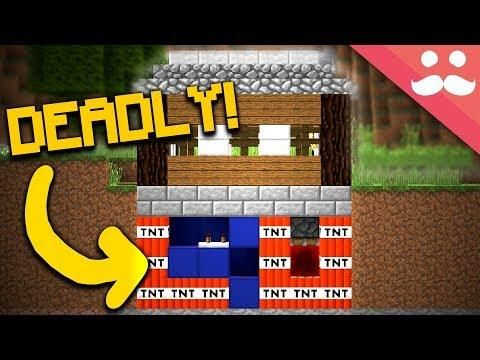 How To Make A Trap House In Minecraft Minecraft Houses Minecraft House