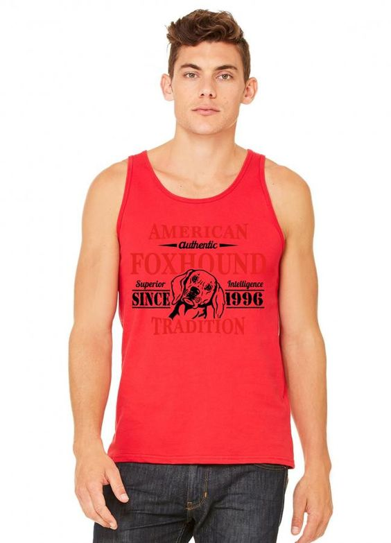 Authentic American Foxhound Tradition tank top